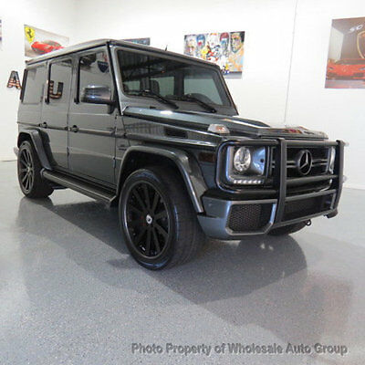 2014 Mercedes-Benz G-Class 4MATIC 4dr G63 AMG CARFAX CERTIFIED ! NATIONWIDE SHIPPING !! FULLY LOADED !!! CALL 954-744-1177