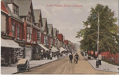 POSTCARD SUTTON COLDFIELD   Lower Parade