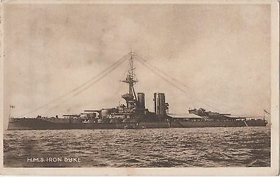 POSTCARD    SHIPS   Iron Duke