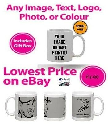 Personalised Mug / Cup - Custom Gift - Your Image Photo & Text & Design Printed