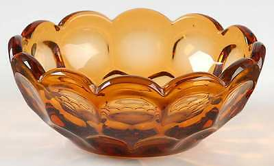 Imperial Glass Ohio PROVINCIAL AMBER Nappy 237609