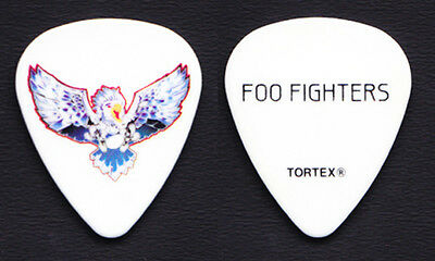 Foo Fighters Pat Smear Parrot Guitar Pick - 2011-2012 Wasting Light Tour