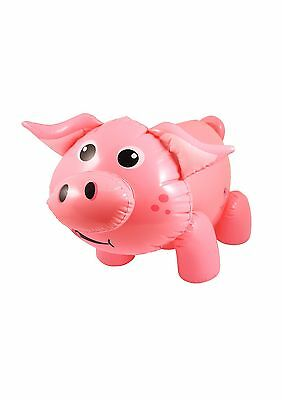 Inflatable Pig 55cm Blow Up Toy Prop Decoration