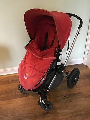 Bugaboo Cameleon Red Travel System Single Seat Stroller