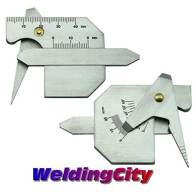 Welding Gauge Bead Height Gap Groove Angle Plate Thick HJC40B | US Seller HG003