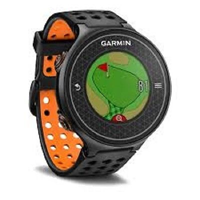 GARMIN Approach S6 Golf GPS Watch Waterproof 38000 Courses NOH  - Black/Orange