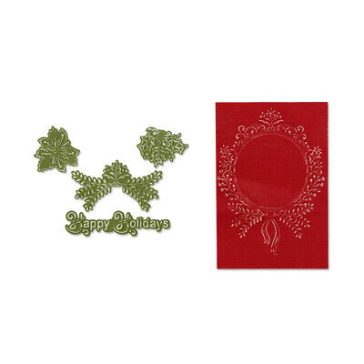 Sizzix Textured Impressions Embossing Folders 4tlg Family Tree Set by Eileen H