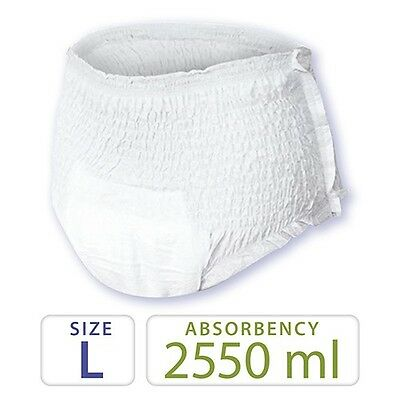 Case of 80 Tendercare Large Plus Absorbency Pull up Incontinence Pants