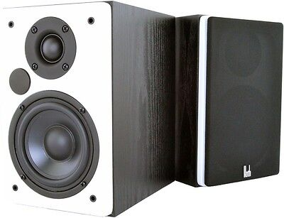 Roth VA4 White - Active Turntable Hifi Speakers With Bluetooth