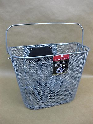 Claud Butler Wire Mesh Cycle / Bike Basket ~ Handlebar Mounted ~ Quick Release