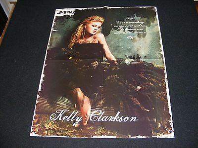 KELLY CLARKSON magazine clippings lot No3 with POSTER