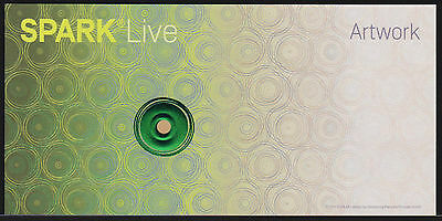 "Test Note SICPA Switzerland - ""Spark Live"" feature type #1 Specimen"