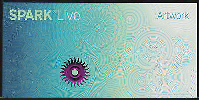 "Test Note SICPA Switzerland - ""Spark Live"" feature type #4 Specimen"