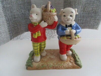 Royal Doulton Rupert Bear And Friend Where Did You Get Such Fruit