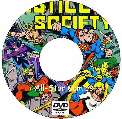 All-Star Comics Issues 1 - 74 on DVD Classic Comics Justice Society of America