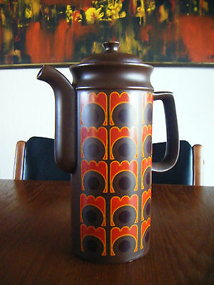 Vintage Mid Century Arthur Wood Coffee Pot - Made in England