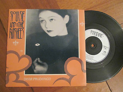 """Siouxsie And The Banshees – Dear Prudence - UK 7"""" P/S 1983"""