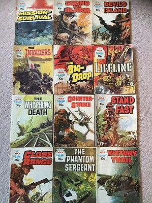 12 War Picture Library Comics 10p Issues