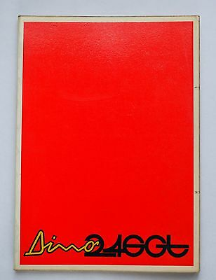 Ferrari 246 Dino Owner's Manual