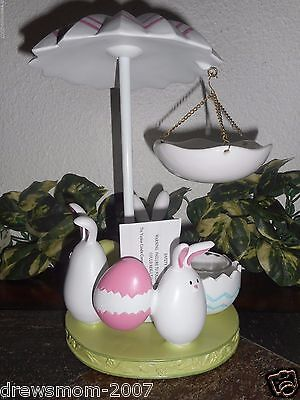 Yankee  Candle Easter Bunny Dance  Hanging Tart Wax Melts Warmer Eggs/Burner