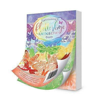 Hunkydory THE LITTLE BOOK OF FLUTTERBY REGENBOGEN LBK156 144 A6 Blätter All