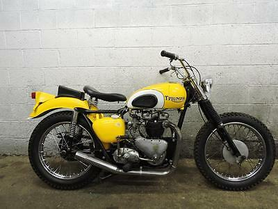 Thunderbird  1956 Triumph 650 Pre Unit 6T Thundebird Custom Project - Matching #'s - NO TITLE
