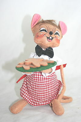 """Annalee Dolls 8"""" Chef Mouse with Cookies NWT"""
