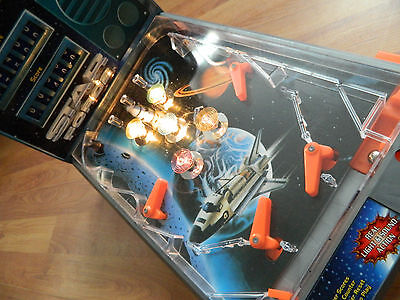 Vintage Retro Halsall Star Force Pinball Game Boxed Battery Operated