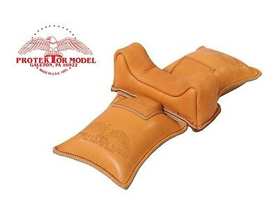 Protektor Model New Empty #6 Straddle Bag Gun Rest Bench Shooting Made In Usa!