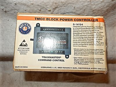 Lionel #6-14184 Trainmaster Command Control Block Power Controller NEW w BX & I
