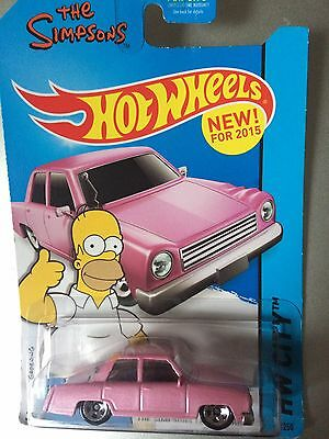 hot wheels simpsons