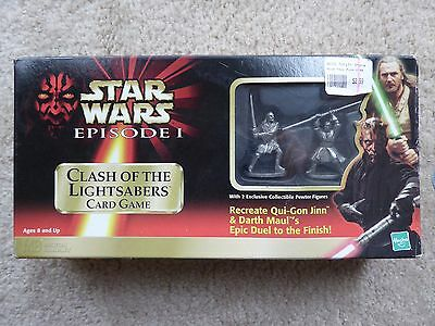 Star Wars Episode I Clash of the Lightsabers Card Game Exc. Condition Epic Duel
