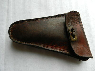 Antiquity  bicycle  leather bag  for  tools