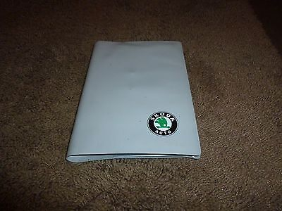 Skoda Felicia handbooks and wallet