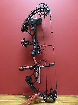 New 2017 Pse Drive R Rh 50-70# Bow Package Black 336 Fps Stab,quiver,sight,qad