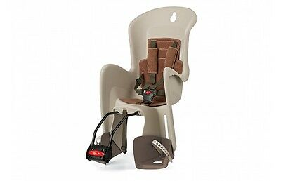 Polisport Bilby Reclining Rear Child Seat in Cream/Brown RRP £67.99