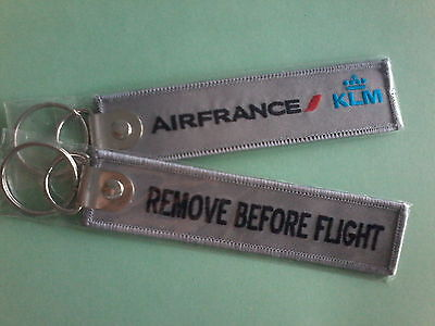 PORTE CLE Remove Before Flight AIR FRANCE / KLM ****   NEUF, SOUS BLISTER   ****