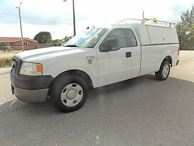 2008 Ford F-150 XL Extended Cab Pickup 4-Door 2008 FORD F-150 XL  4-DOOR SERVICE UTILITY TRUCK  LOW MILES ONE OWNER NO RESERVE
