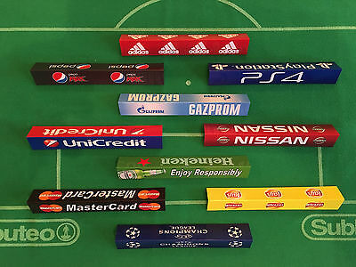Champions League Style Advertisement Boards for Subbuteo