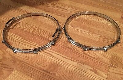 "Vintage Yamaha Snare Hoops - 14"" 10 Lug / 10 Hole - 3.0mm Aluminum PowerHoops #2"
