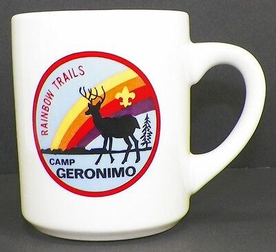Boy Scouts Rainbow Trails Camp Gernimo Grand Canyon Council Coffee Mug Cup