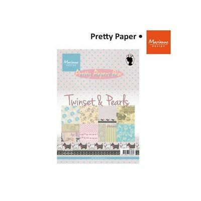 Marianne Design Paper pad Twinsets & Pearls