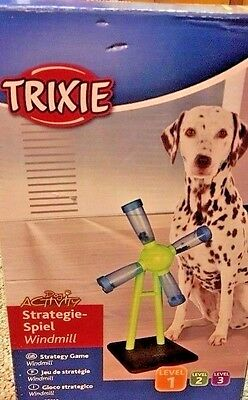 Dog Strategy TRAINING Trixie Windmill Game Level 1 Trick Activity Enrichment