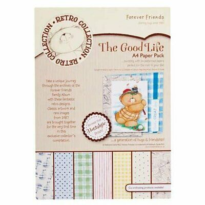 Forever Friends A4 paper pack - the good life (24pk)