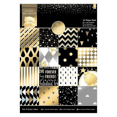 Forever Friends A4 Paperpack - Classic Decadence -160g-