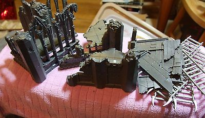 Job Lot of WARHAMMER Plastic. Ruins / Bombed Out Cathedral and Ladders etc