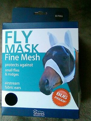 Shires fly mask x-full