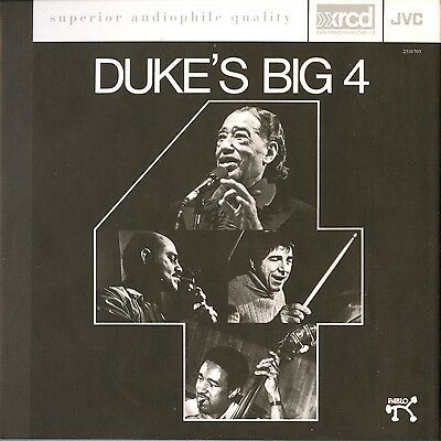 XRCD JVCXR-0022-2: Duke Ellington Quartet - Duke's Big 4 - OOP 1999 JAPAN USA NM