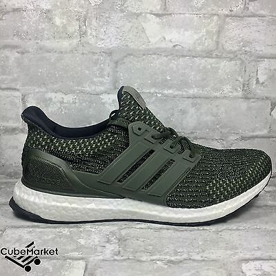 4a36c4a66c152 ADIDAS ULTRA BOOST LTD 3.0 TRACE CARGO OLIVE GREEN BA7748 Size 11 11.5