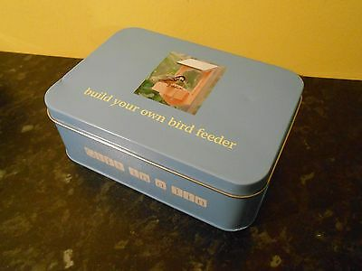 NEW Apples to Pears GIFT IN A TIN Build a Bird Feeder FREE P+P!